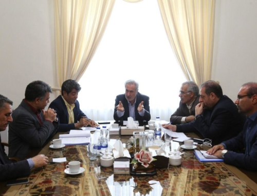 Session of Tabriz-Andisheh-Sahand Free Construction Road